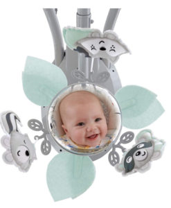 baby swing with mirror