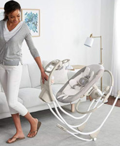 baby swing on wheels