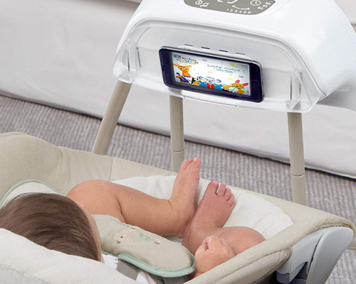 baby swing with bluetooth