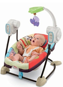 fisher price baby vibrating swing