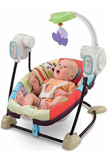 baby swing front to back