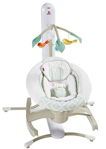 baby swing with led lights