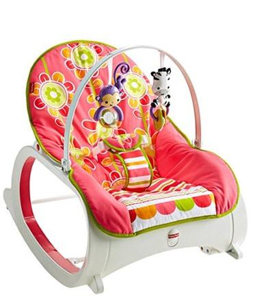 baby swing inside home