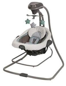 graco 2 in 1 baby doll swing
