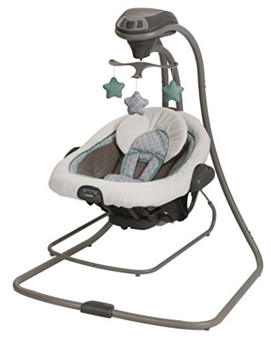 baby swing that also vibrates