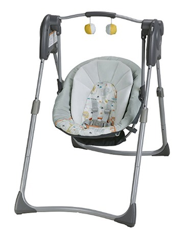 compact baby swing reviews