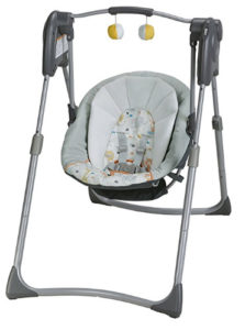 graco infant glider swing