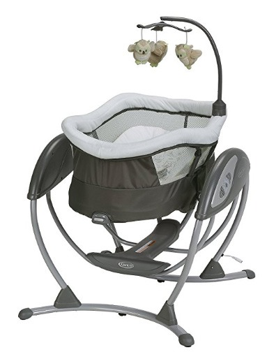 baby swing with detachable seat