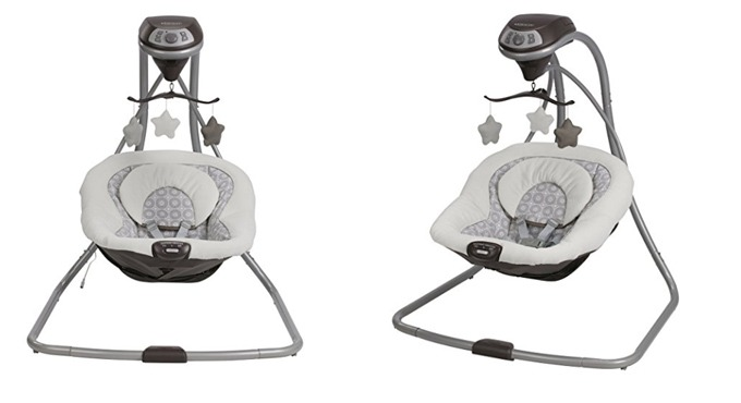 graco simple sway portable baby swing