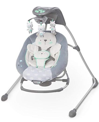 ingenuity inlighten baby swing and rocker