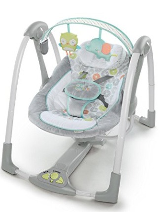 best baby swing small spaces
