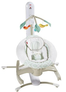 folding portable baby swing
