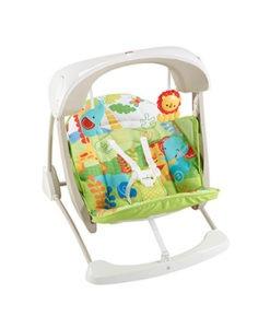 folding baby swing