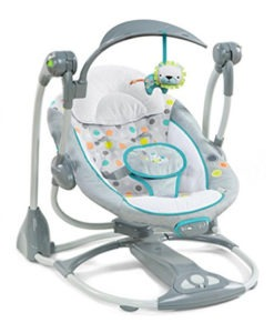 compact portable baby swing