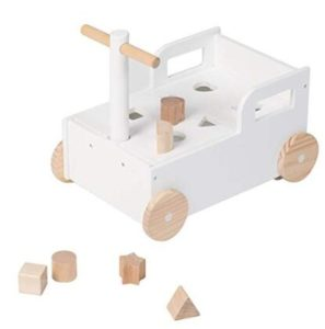 baby walker with blocks wooden toys