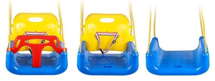 double toddler swing