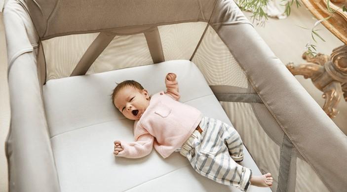 portable fold up bassinet