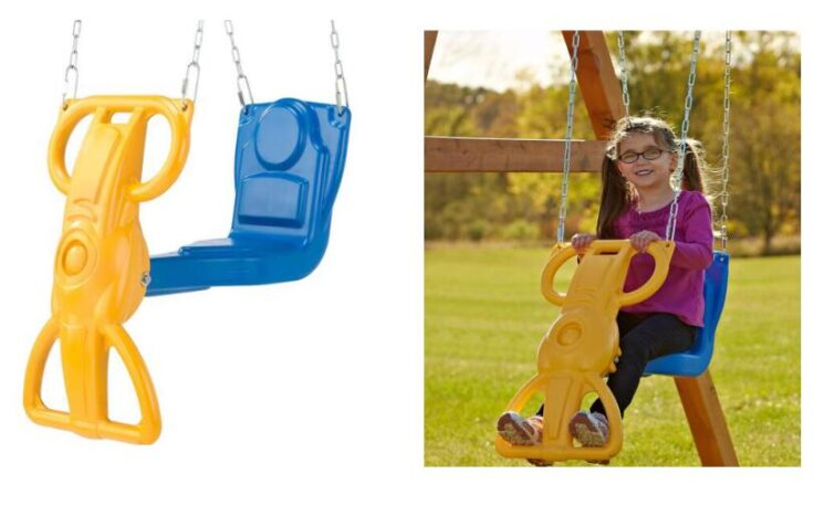2 in 1 toddler swing