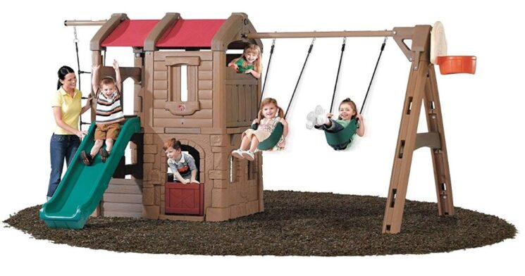 best plastic swing sets