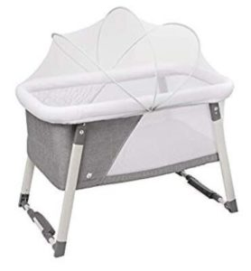 portable bassinet with canopy