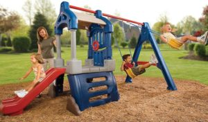 toddler swing and slide