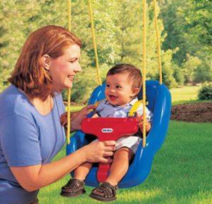 toddler swing frame