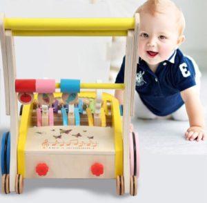 best wooden push walker