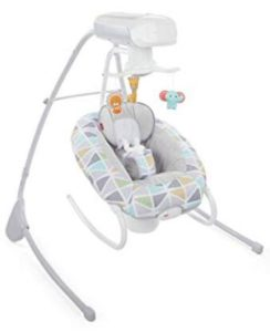 fisher price 2 in 1 swing and seat