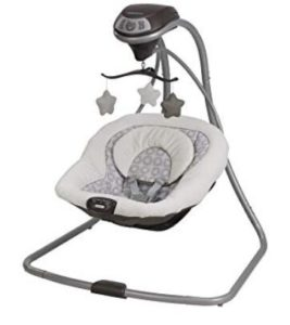 5 point harness baby swing