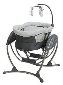 motorized baby doll swing