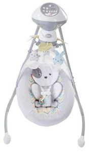 cheap portable baby swing