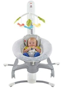 fisher price baby swing with lights