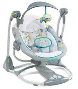 portable quiet baby swing