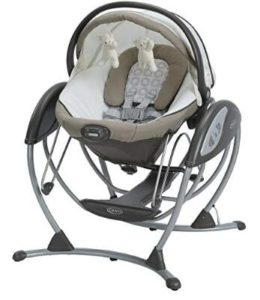 upright baby swing