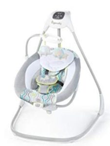 full size advanced baby swing