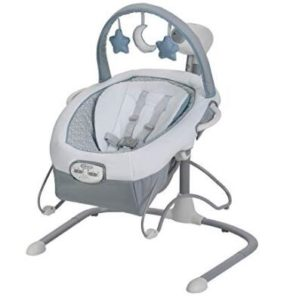 2 in 1 baby swing with harness