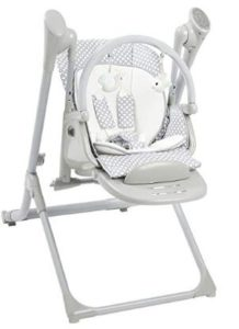 baby swing that sits upright