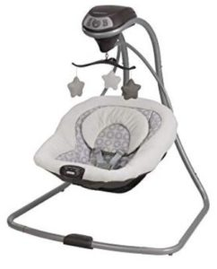 cheap portable baby swings