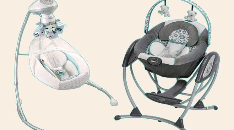 comparison between Graco baby swing and Fisher Price