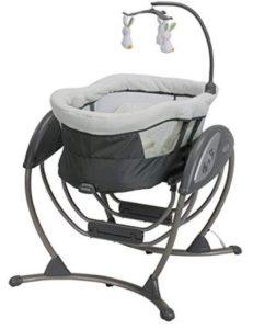 rotating baby swing