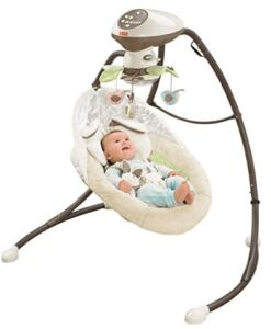 full size reclining baby swing