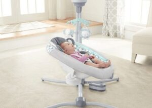 recline baby swings