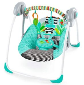 best portable reclining baby swing