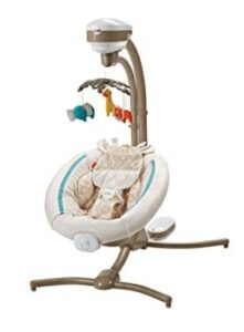 the best reclining baby swing
