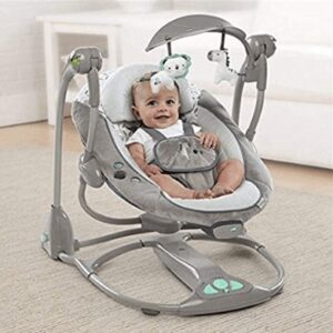 reclining baby swing review