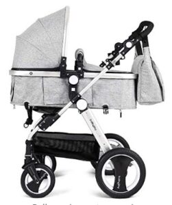 best double stroller with bassinet