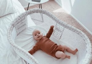 newborn baby boy bassinet