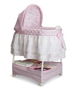 simmons nursery rhyme gliding bassinet