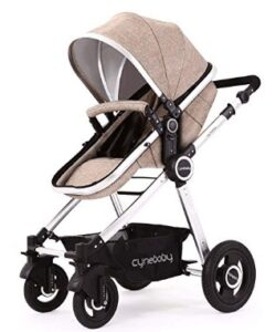 jogging stroller with bassinet