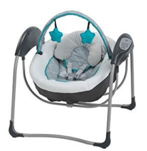 fisher price space saver baby swing